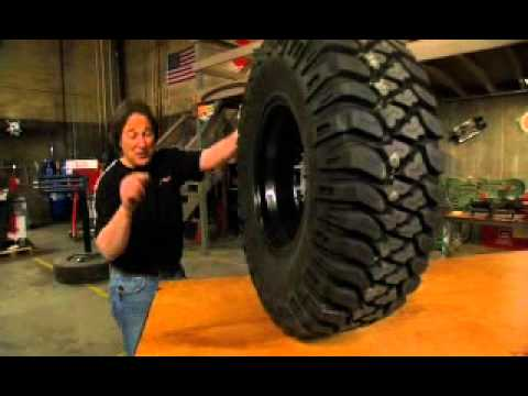 Jeep 33 Inch Tires Mickey Thompson Baja MTZ Radial - YouTube