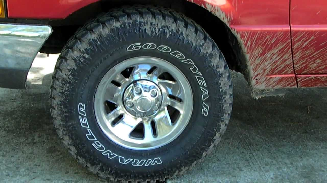 Truck Mud Tires >> 31's...they FIT!!! (2wd 1999 Ford Ranger xlt) no lift, stock suspension - YouTube