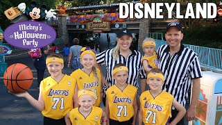 Mickey's Halloween Party at Disneyland 2018 - Family Fun Pack Lakers