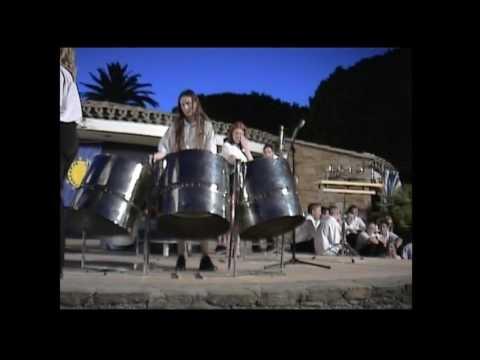 Pansands Allstars Steel Band - South of France Tour - Ben