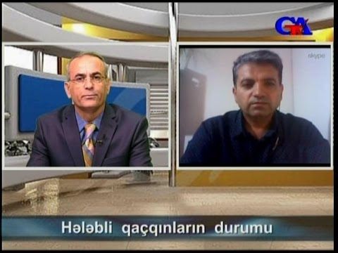 GünazTv Oct.19.2015 Dr. Muhtar Fatih: Hələbli qaçqınların durumu (1)