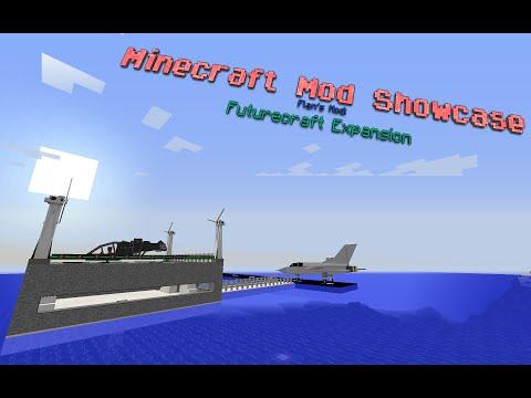 TANKS, PLANES AND MECHS!! - Minecraft Flan's Mod Futurecraft Showcase