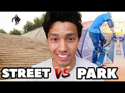 PARK SKATERS VS STREET SKATERS