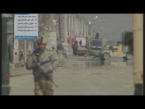 Taliban attack in Kabul ahead of election