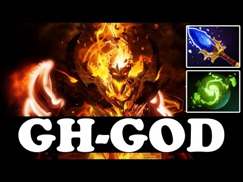 GH-GOD Plays SHADOW FIEND WITH AGHANIM'S AND REFRESHER ORB - vol 3 - Dota 2