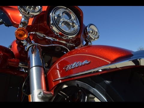 Harley-Davidson Candy Orange Paint