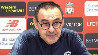 Liverpool 2-0 Chelsea - Maurizio Sarri Full Post Match Press Conference - Premier League