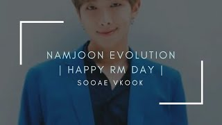 Kim Namjoon Evolution I Happy RM Day I 12/09/18