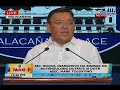 Sec. Roque, inaanunsyo na sinibak na ni Pangulong Duterte sa DOTR Asec. Mark Tolentino