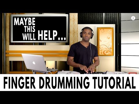 Finger Drumming Tutorial: Getting Started With Serato DJ Pro (Free Drum Samples)