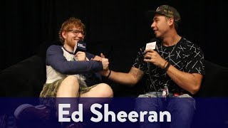 Backstage With Ed Sheeran | KiddNation