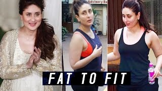 Kareena Kapoor khan's Post Pregnancy Weight Loss | 10 Tips you can't miss