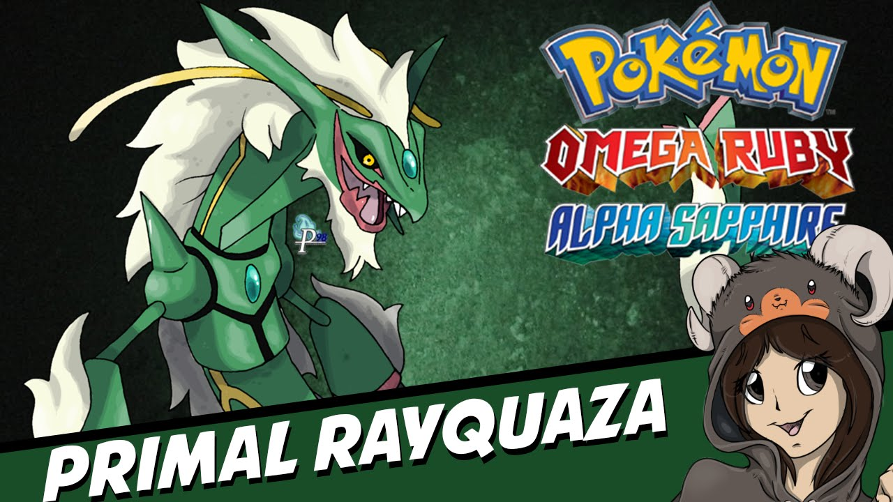 pokemon omega ruby how to get primal kyogre