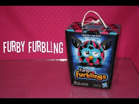 Furby Furbling: Triangles - Opening/Review