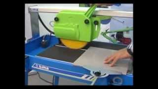 Tile Saw SIMA Perla 200-250 -Set Up Guidelines - SIMASA.co.uk