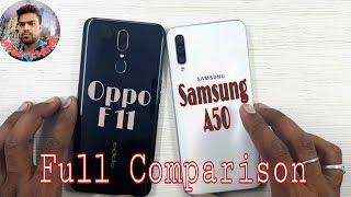 Samsung Galaxy A50 vs Oppo F11 Full Comparison