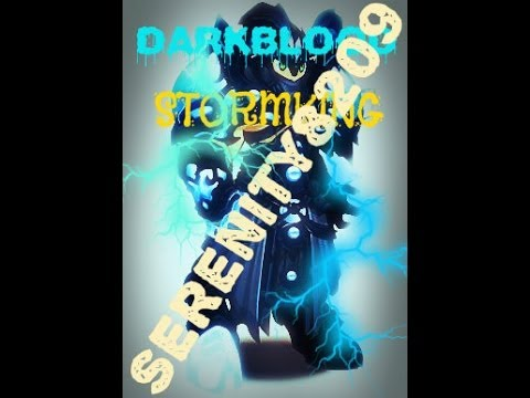 Aqw Thunderforge Rank 10/ Getting Darkblood Stormking by serenity8209