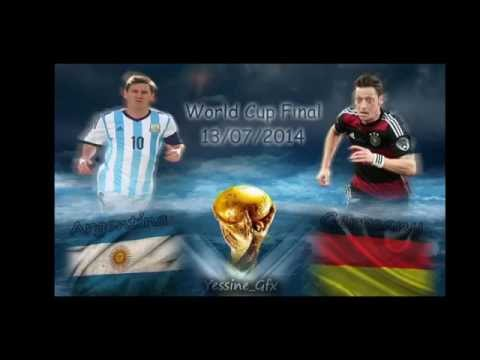 • FIFA World Cup 2014 Final : Promo : Argentina vs Germany •