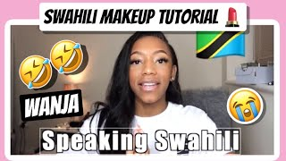 Speaking 100% SWAHILI 🇹🇿...FAIL | Tanzanian Youtuber