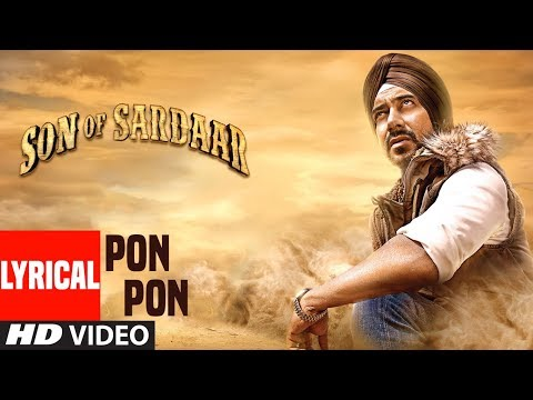 Son Of Sardaar Po Po Lyrical Video | Salman Khan, Ajay Devgn & Sanjay Dutt