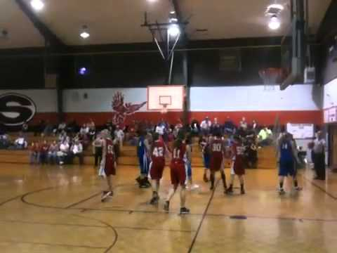Ashworth middle school 1st basketball of 2012