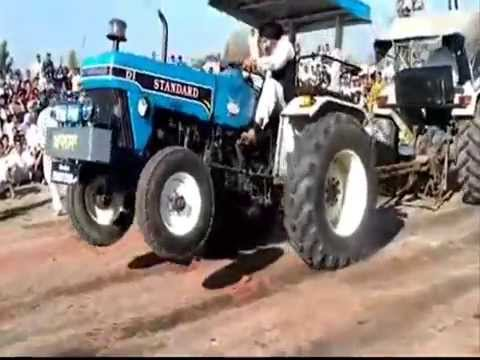 Tractor Stunt In Punjab video