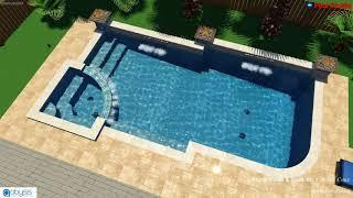 Paiva Residence - Hybrid 3D Pool Design