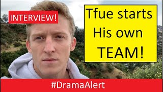 Tfue makes his own TEAM! (INTERVIEW) FaZe CEO #DramaAlert Contract LEAKED!