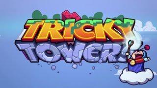 ESSE JOGO ME DEIXA NERVOSO! | Tricky Towers ft. Alanzoka e Cellbit #1