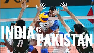 India 🇮🇳 vs Pakistan 🇵🇰 | Asian Games Volleyball 2018.