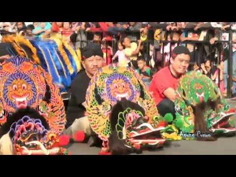 JARANAN 1000 BARONG PEKAN BUDAYA KEDIRI 2018