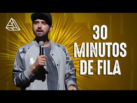 THIAGO VENTURA - 30 MINUTOS DE FILA Vídeos de zueiras e brincadeiras: zuera, video clips, brincadeiras, pegadinhas, lançamentos, vídeos, sustos