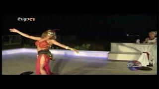 رقص عربی   دختر ایرانی  ناتاشا  TV P 1