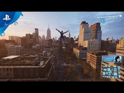 "『Marvel's Spider-Man』 ""ヒーロー""トレーラー"