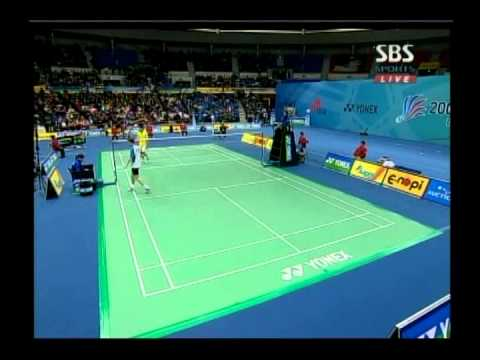 Korea Open 2008 - Peter Hoeg Gade vs Lee Chong Wei