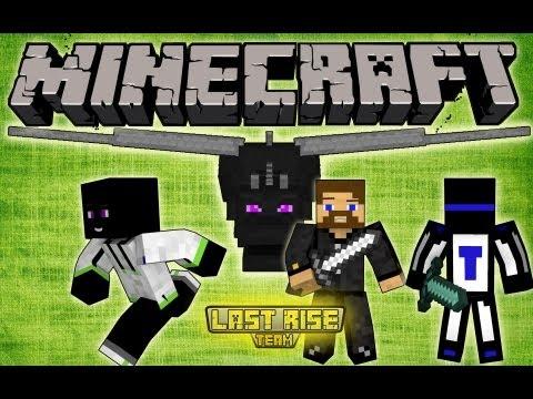 Minecraft - НАПАДЕНИЕ ДРАКОНА! [LastRise]