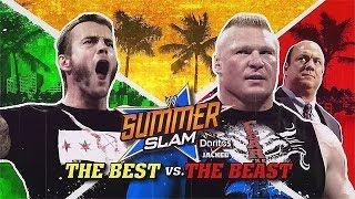 Cm Punk vs Brock Lesnar SumerSlam 2013 Highlights/Resumen