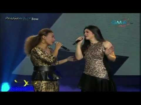 Smile - Regine Velasquez & Jaya In Party Pilipinas Final Episode [hd] video