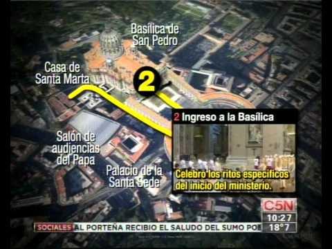 C5N - ASUNCION DEL PAPA: EL RECORRIDO DE FRANCISCO
