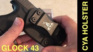 CYA SUPPLY COMPANY Glock 43 Holster Review