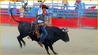 Rodeio em touros e cavalos - Brasil - México
