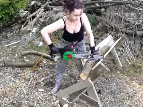 The Best Homemade Chainsaw Horse Ever YouTube