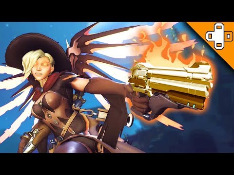 OMG IT'S MERCY RUUUUUN! Overwatch Funny & Epic Moments 422