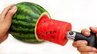 Awesome life hacks vs watermelon