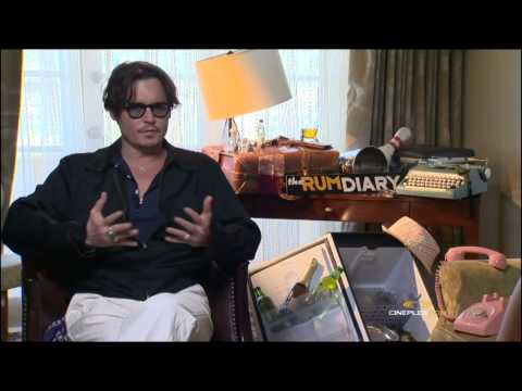 Johnny Depp, Amber Heard and Aaron Eckhart, The Rum Diary - Cineplex Interview