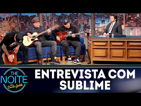 Entrevista com Sublime | The Noite (13/09/18)