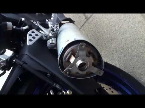 Yzf R125 Exhaust Yamaha Yzf R125