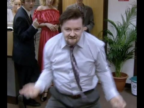 **Comedy Week** THE David Brent Dance - The Office - BBC