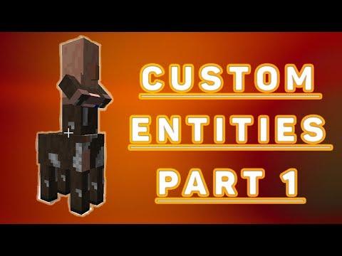 Entities - Minecraft Modding Tutorial 1.12/1.13 - Episode 10