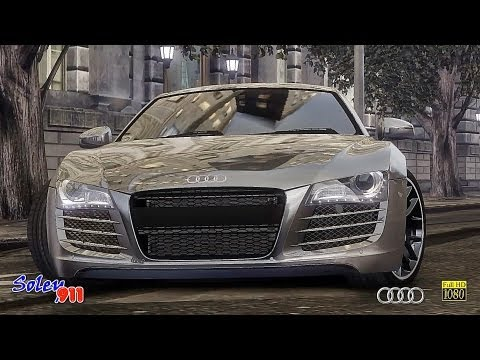 GTA 4  2011 Audi R8 coupe tuned  !!  ENB series Extreme Graphics  [ RealizmIV + VisualIV ]